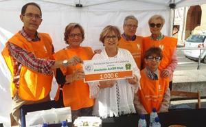 La Asociación Sertorio dona 1.000 euros a Alcer