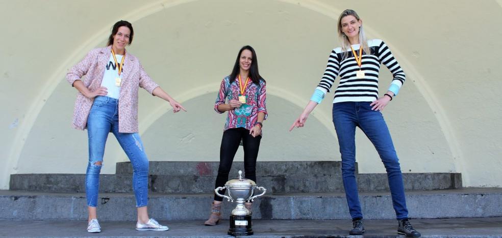 Tres mujeres que suman 42 títulos