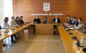 San Martín, Sáinz e Iglesias defienden la limpieza en la contratación y desvinculan al Ayuntamiento de la trama 'Enredadera'
