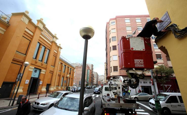 Logroño cambia el nombre de tres calles