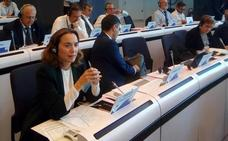 Gamarra apuesta por la ampliación del Corredor Atlántico-Mediterráneo