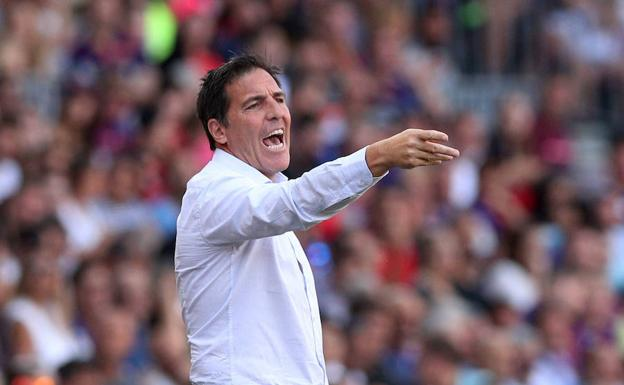 Eduardo Berizzo, técnico del Athletic. /Albert Gea (Reuters)