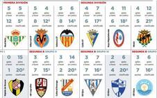 La UD Logroñés discute con el gol