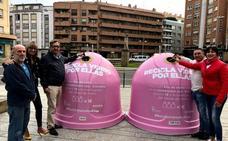 Reciclado en rosa