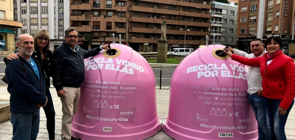 Reciclaje en 'rosa' y solidario