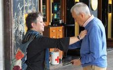 Cruz Roja recaudó más de 7.000 euros en el Día de la Banderita en Logroño