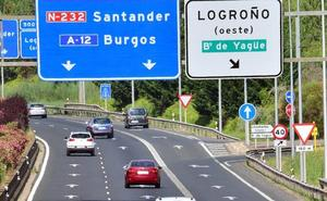 Tráfico espera 55.000 desplazamientos en las carreteras riojanas en El Pilar
