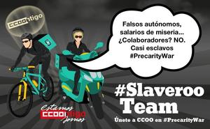 CCOO denuncia a Telepizza por obligar a sus trabajadores a usar su móvil para seguir los pedidos