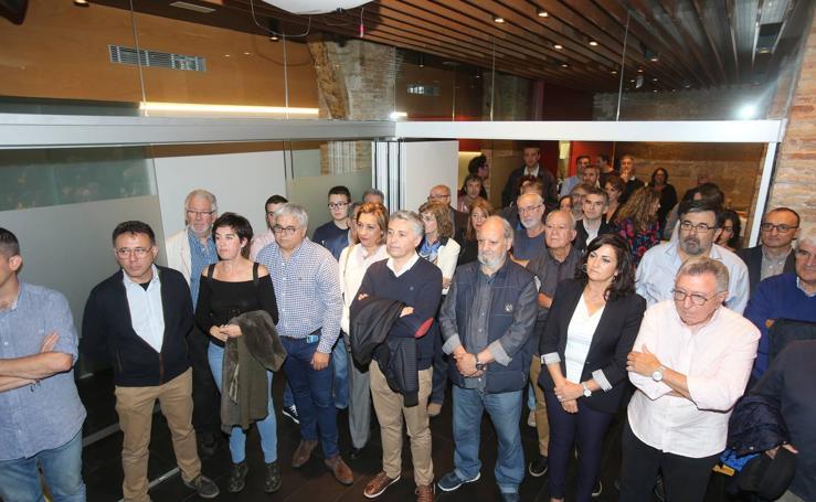 Pablo Hermoso de Mendoza presenta su candidatura a las primarias del PSOE