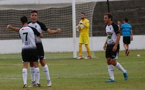 Los goles de Gabarre sujetan al club en la clasificación