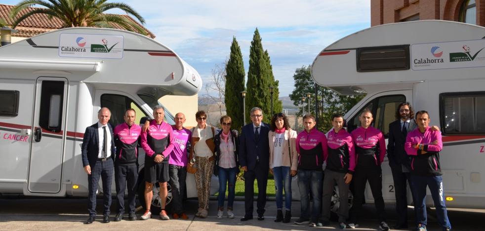 Los corredores de 'Zancadas contra el cáncer' han recaudado ya 6.000 euros