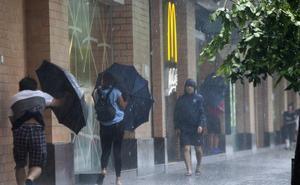 AEMET advierte de la llegada de 'Leslie' dejará vientos fuertes y chubascos