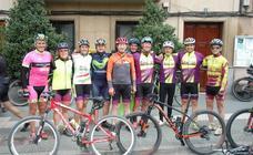 Sexta concentración ciclista en Aldeanueva