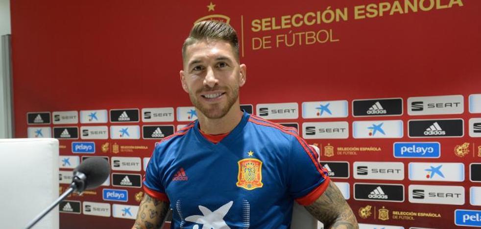 Ramos: «Me sientan bien los penaltis, desde Hierro no los lanza un central»