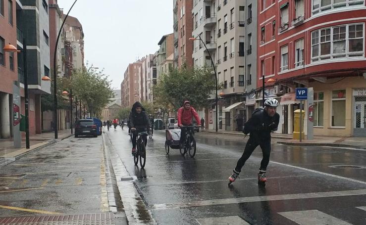 Marcha ciclista en pro de Unicef