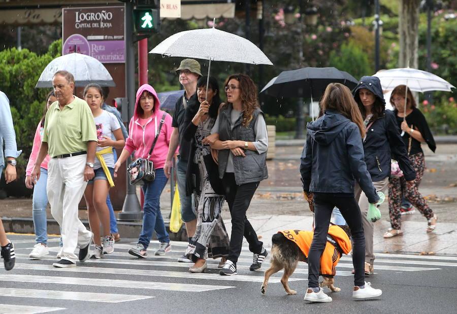 La Rioja activa el aviso amarillo por lluvias a lo largo de este domingo