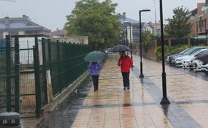 Los restos del huracán pasan por La Rioja sin incidencias más allá de algunas lluvias