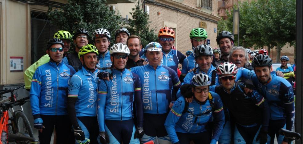 Un centenar de ciclistas se citaron en Aldeanueva