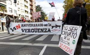Stop Represión denuncia una «ola represiva» por mostrar apoyo a los condenados del 14N