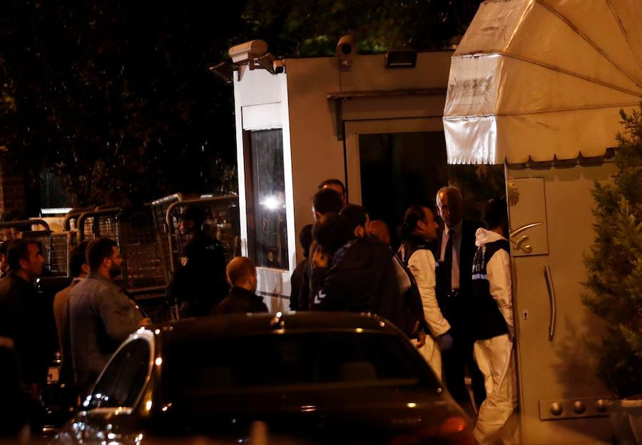 Turquía registra el consulado saudí donde desapareció periodista