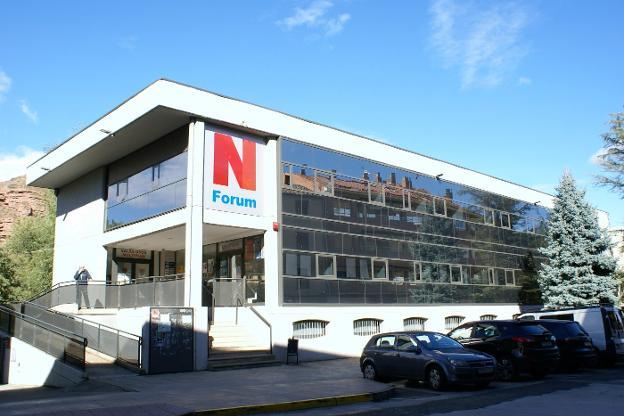 La segunda planta del Najerafórum acogerá Servicios Sociales. :: F. D.