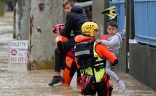 'Leslie' causa al menos 12 muertos en Francia
