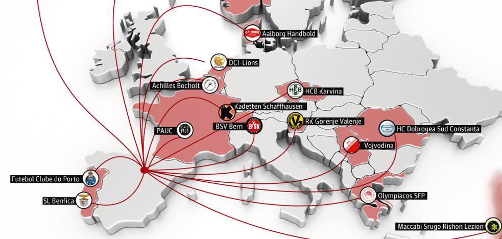 El Logroño se viste de Europa