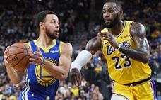 Los Warriors se aferran al trono con el 'Rey' en nuevo feudo