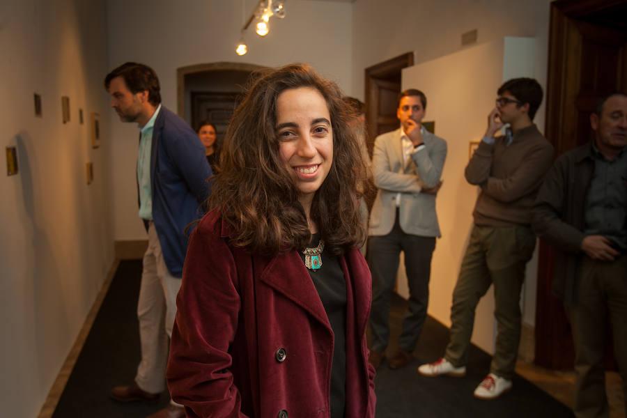 La artista riojana Luz Estefanía expone su obra en Pamplona