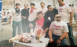 De chuletada en San Mateo en 1995
