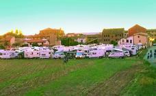 Concentración de caravanas en La Soledad
