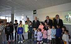 El nuevo colegio de Cenicero acoge a 170 alumnos