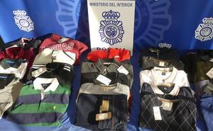 Detenidos dos ladrones especializados en robar ropa en hipermercados