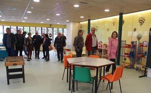 La nueva ludoteca de La Cava dará servicio a 66 familias