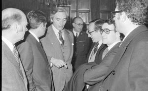 La Retina: dirigentes de UCD, con el gobernador