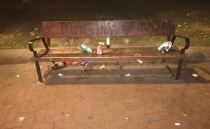 La Guindilla: suciedad en el parque de La Cometa