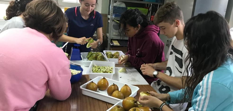 Agustinos estudia los alimentos riojanos para mejorar la salud