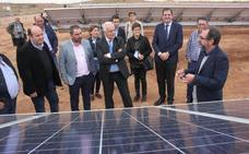 El primer riego fotovoltaico de La Rioja ahorrará hasta el 50% de electricidad