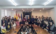 Visita internacional a Villamediana y Nalda