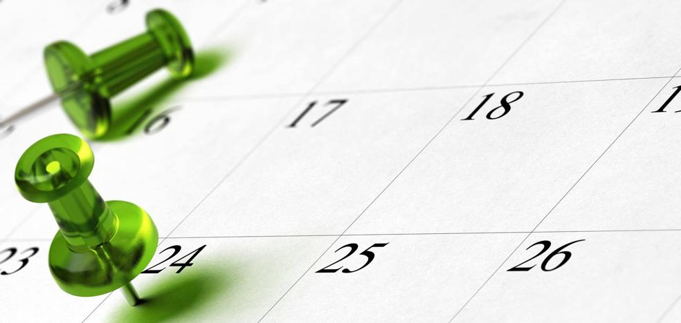 El calendario laboral de 2019 ya es oficial