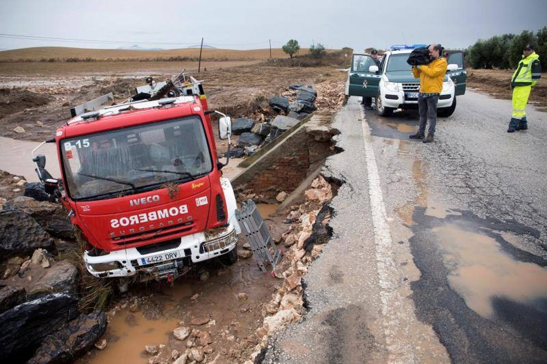 Las inundaciones de Málaga, en imágenes