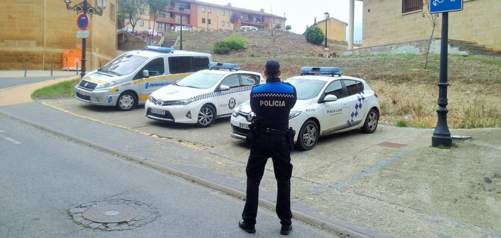 La Policía de Haro, no tan sobre ruedas