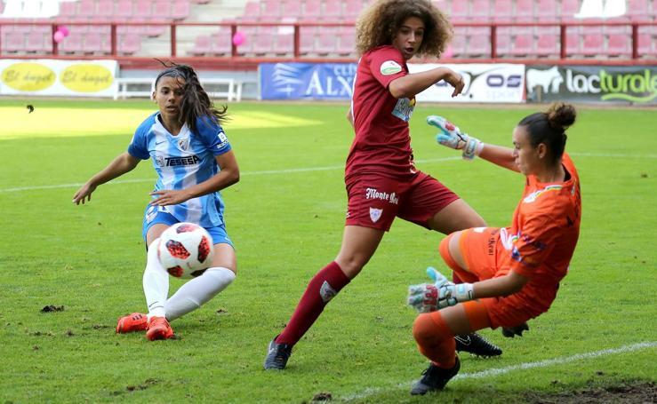 El EDF cae en Las Gaunas contra el Málaga (1-2)