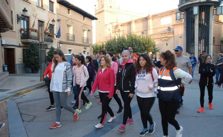 Marcha en Aldeanueva de Ebro