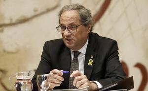 Torra rebaja el proceso constituyente a un foro de debate sobre el país