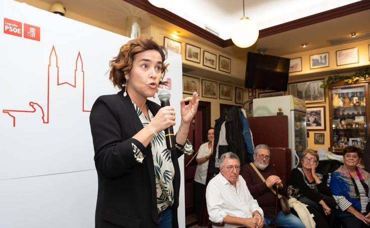 Beatriz Arraiz presenta su candidatura