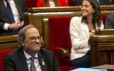 Torra convoca el próximo 16-N a todos los grupos a una mesa de diálogo interno entre catalanes