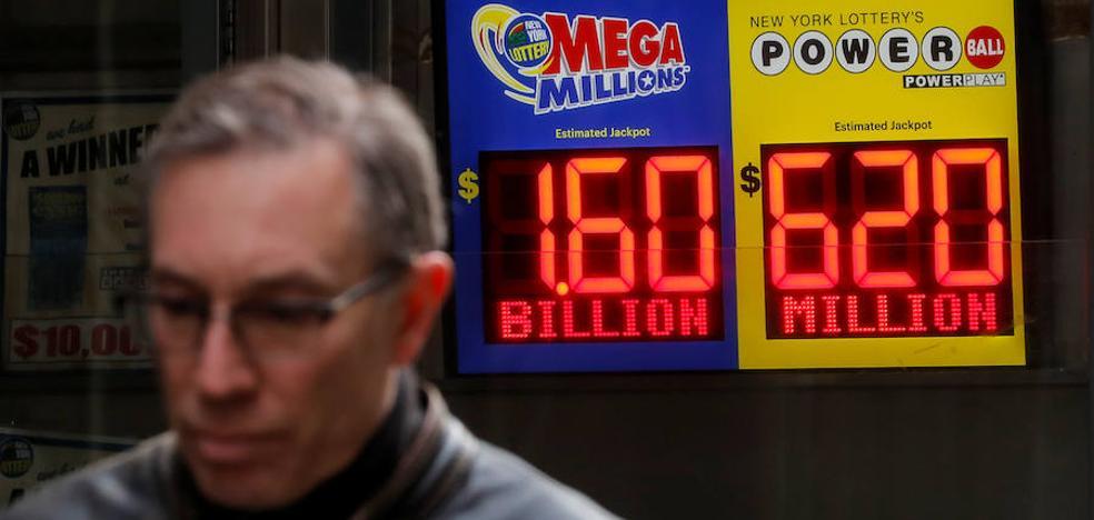 Récord mundial en la lotería: 1.350 millones para un solo jugador