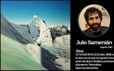 El riojano Julio Sarramián, finalista del concurso nacional de pintura BMW