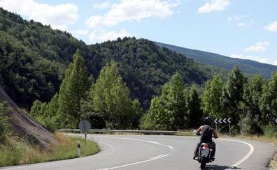 'La ruta tres valles' ofrece a los motoristas 1.313 curvas en 189 kilómetros